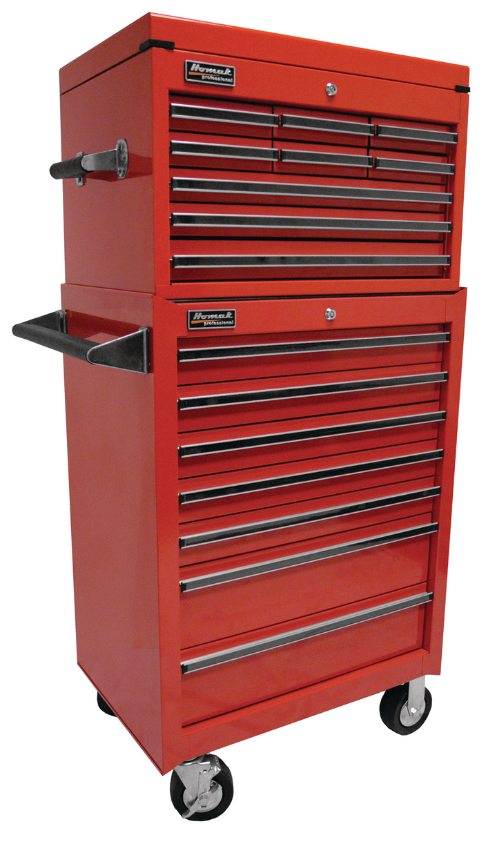 """27"""" Professional Extended Top Chest/Roller Cabinet Combo ..."""