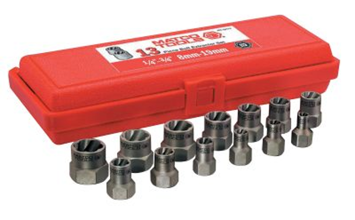 13 Pc 3 8 Bolt Extractor Set No Mbx13 From Matco Tools Vehicle Service Pros
