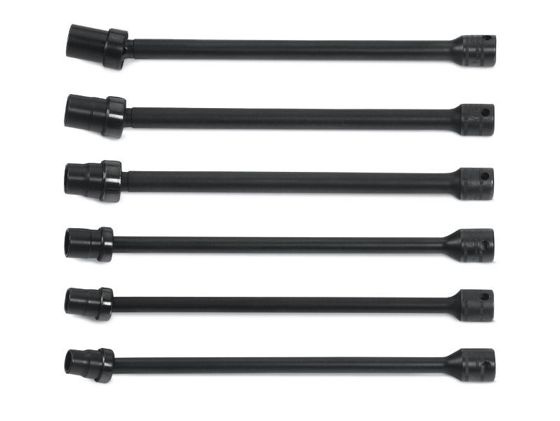 """6pc 3//8/"""" and 1//2/"""" Drive AIR IMPACT EXTENSION BAR SET"""