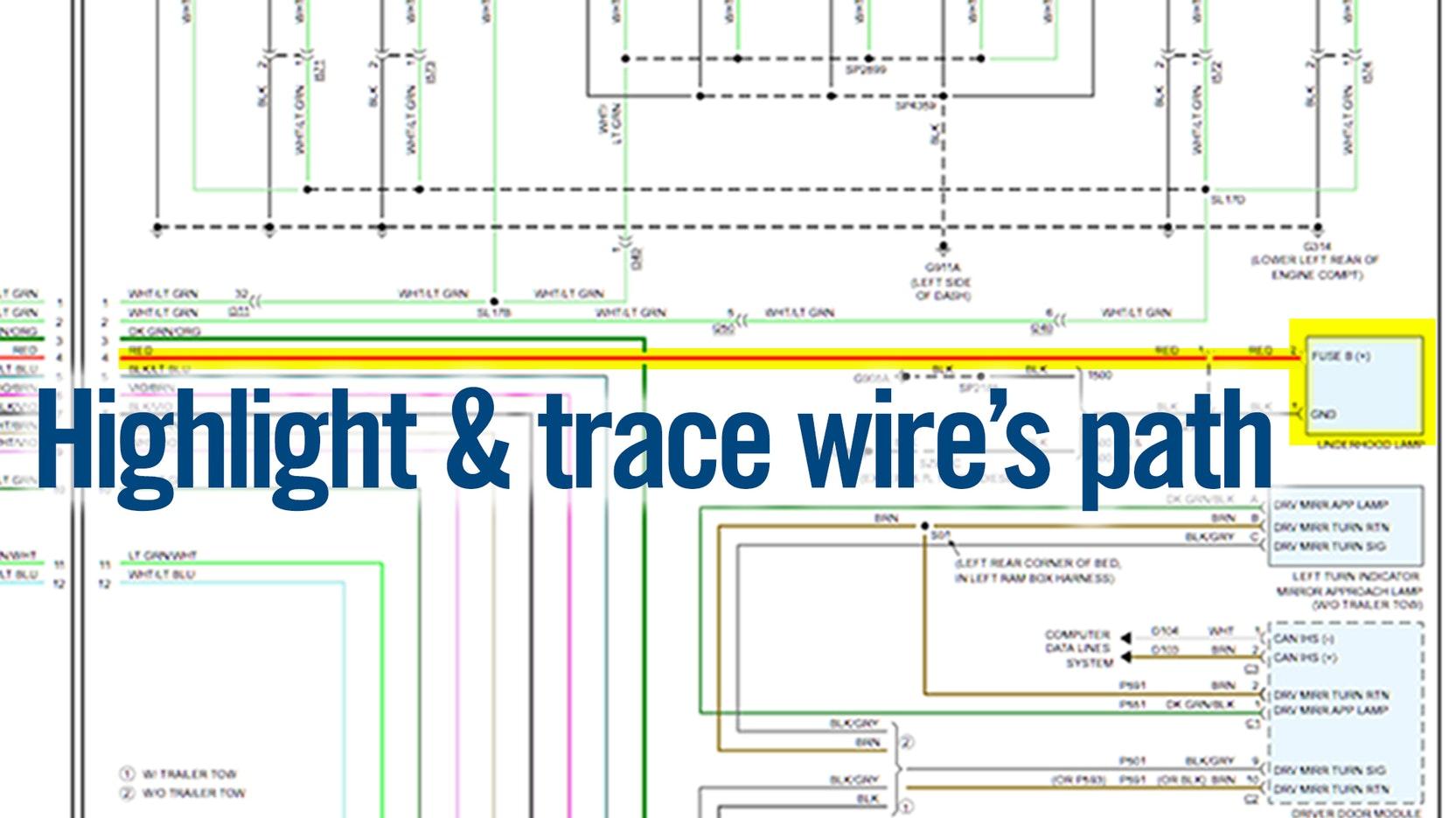 Alldata Updates Color Wiring Diagrams To Include Both Non