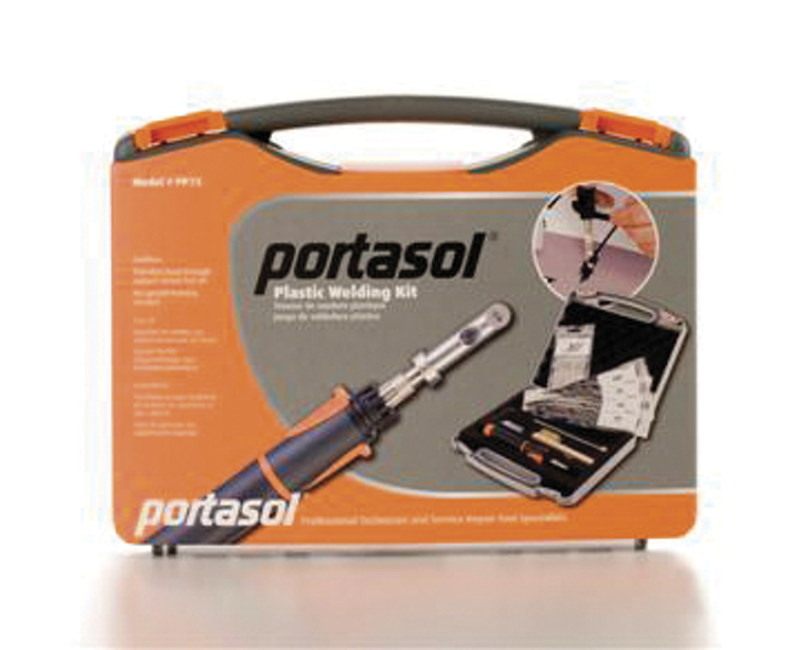Plastic Welding Kit No Pp75 From Portasol Usa Vehicle Service Pros