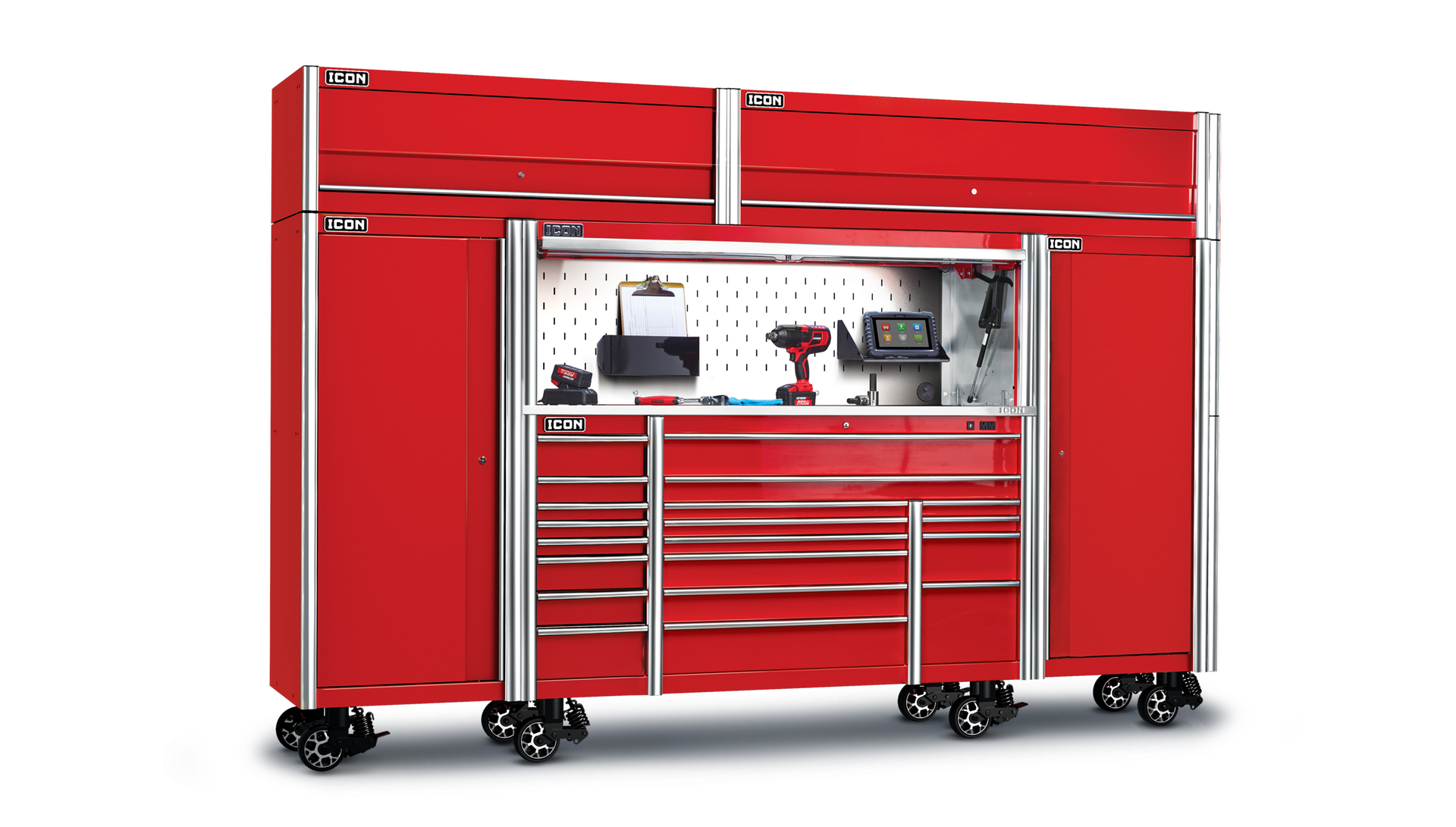 Image of: Icon Storage From Harbor Freight Vehicle Service Pros