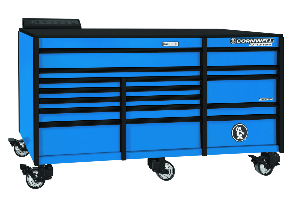 Cornwell Announces Additional Color Options For Platinum Series Toolbox Line Vehicle Service Pros