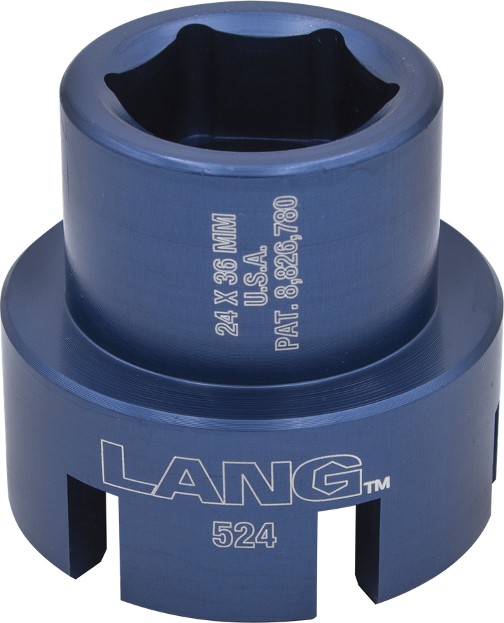 Dual Ford Fuel Filter Socket, No. 524 From: Lang Tools | Vehicle Service  ProsVehicle Service Pros