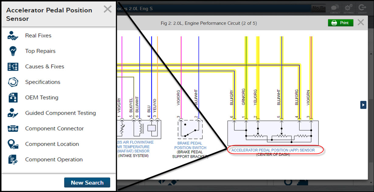 prodemand interactive wiring diagrams from mitchell 1